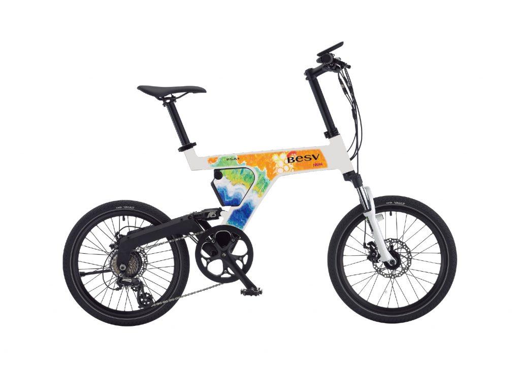 のん オリジナルデザイン 電動アシスト自転車「PSA1」