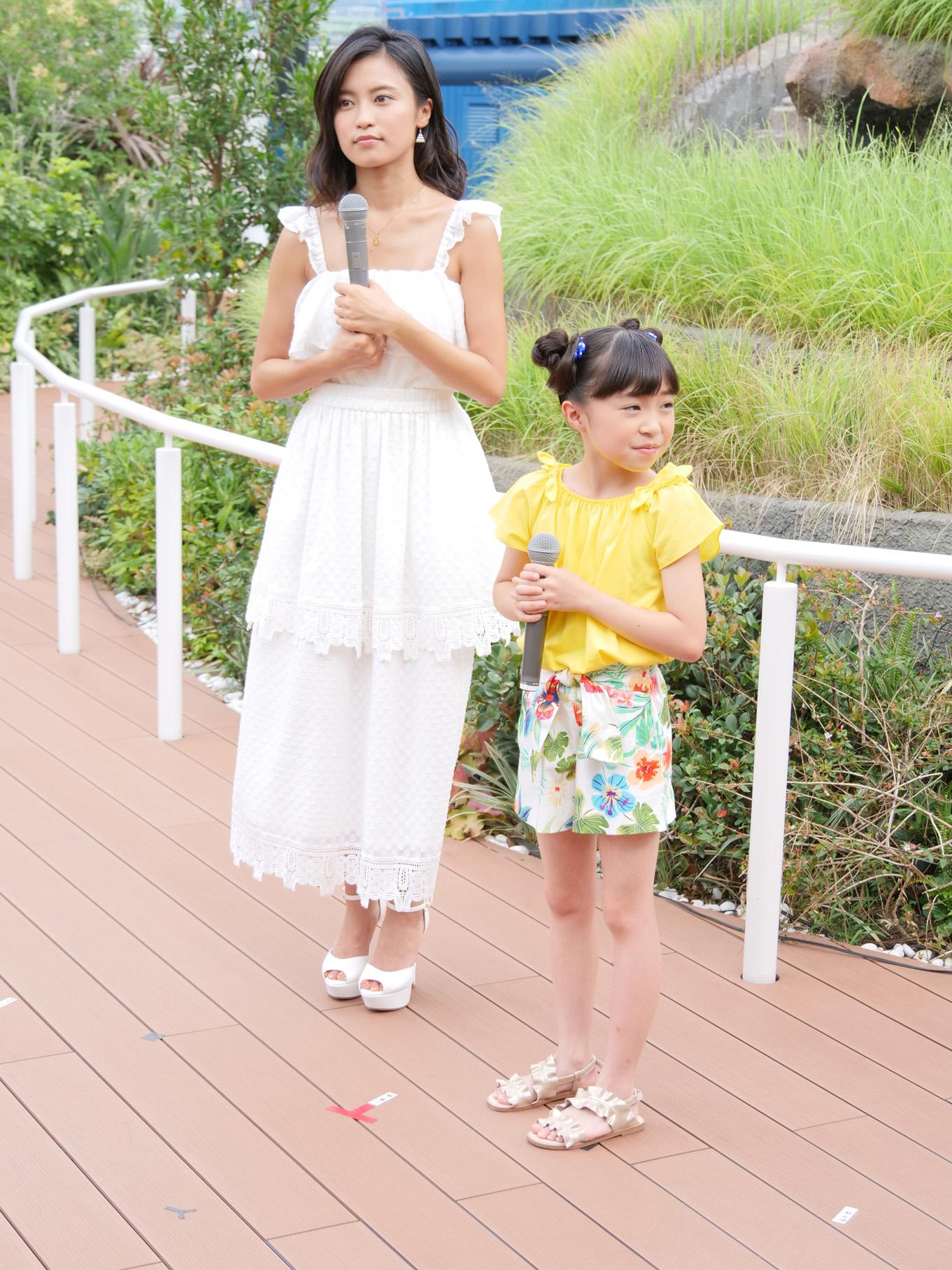 小島瑠璃子と新井美羽