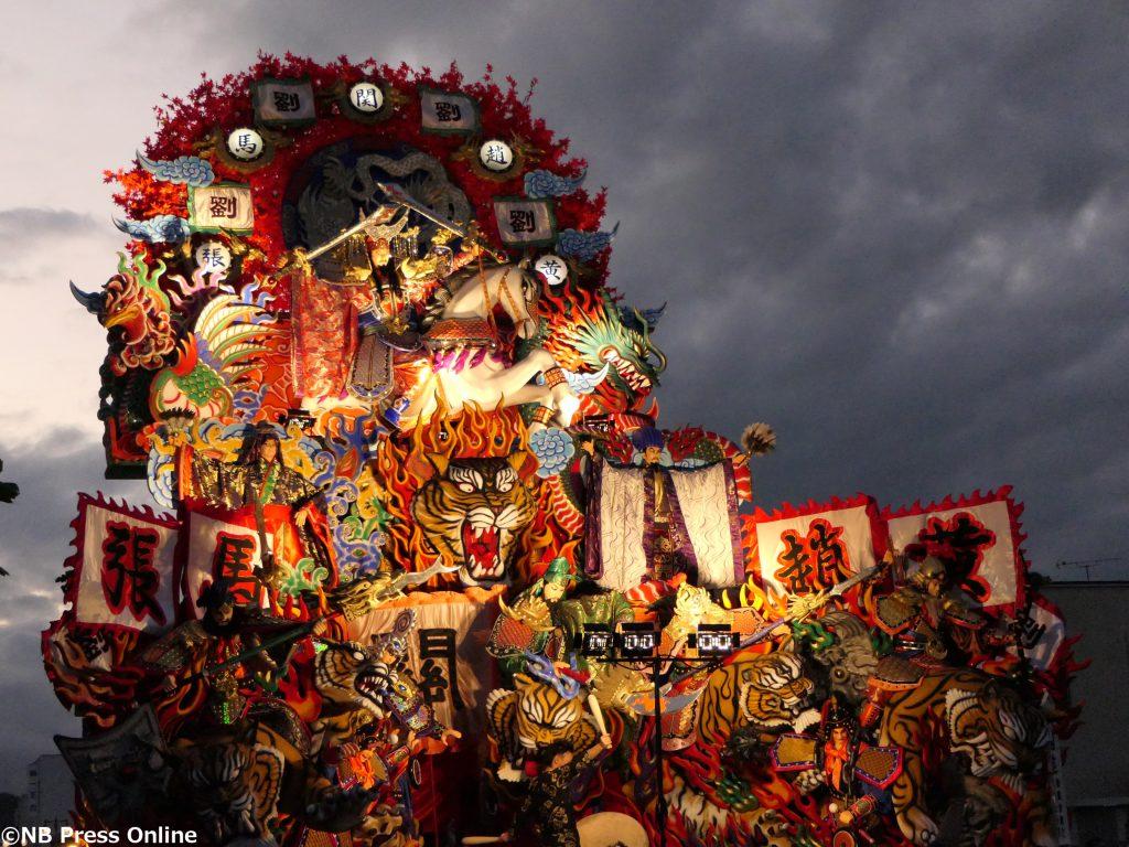 山車 - 久慈秋まつり2017