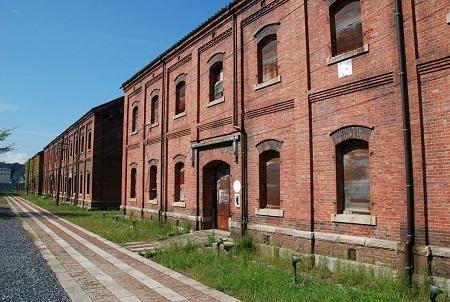 旧舞鶴鎮守府軍需部倉庫
