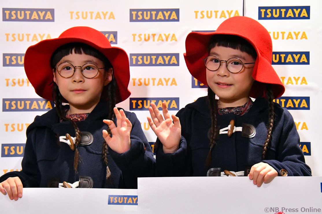 双子キッズモデルりんかちゃん&あんなちゃん映画感想画に挑戦