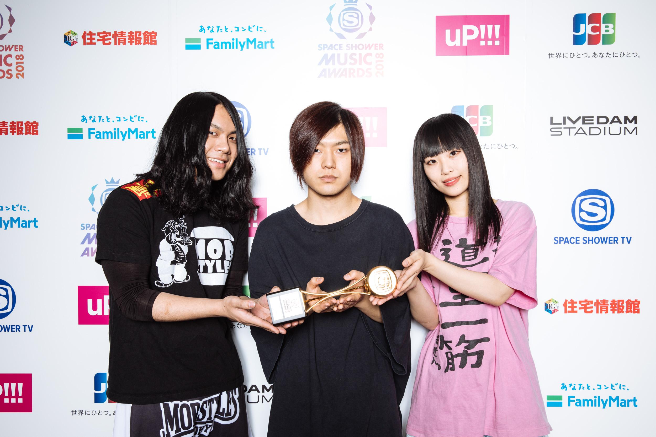 ヤバイTシャツ屋さん - SPACE SHOWER MUSIC AWARDS 2018