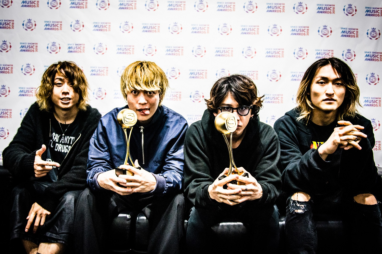 ONE OK ROCK - SPACE SHOWER MUSIC AWARDS 2018