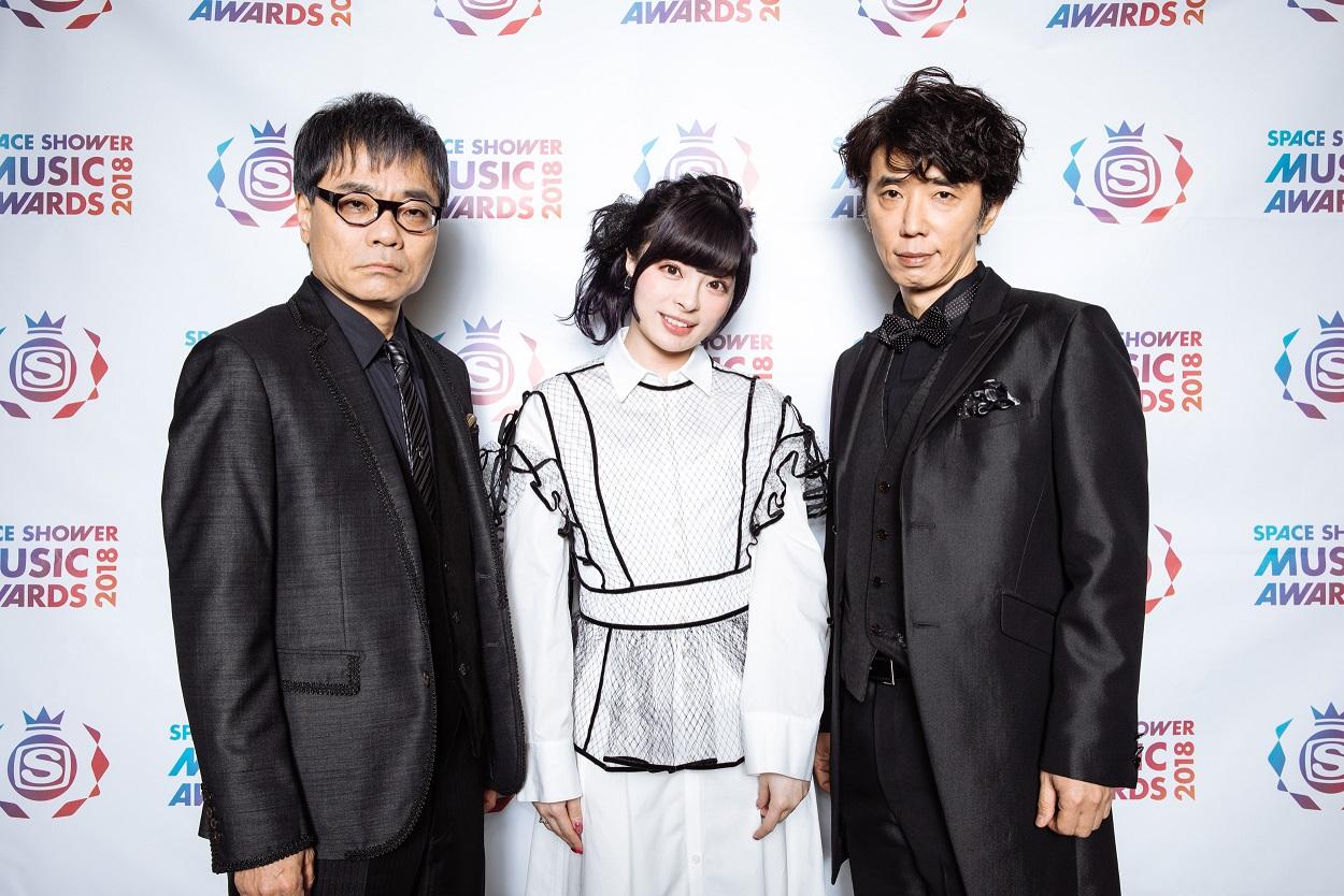 いとうせいこう ユースケ・サンタマリア きゃりーぱみゅぱみゅ - SPACE SHOWER MUSIC AWARDS 2018