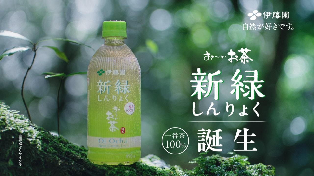 伊藤園 「お~いお茶 新緑」