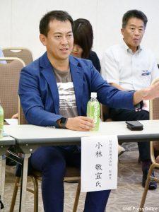 松竹芸能株式会社 取締役 小林 敬宜