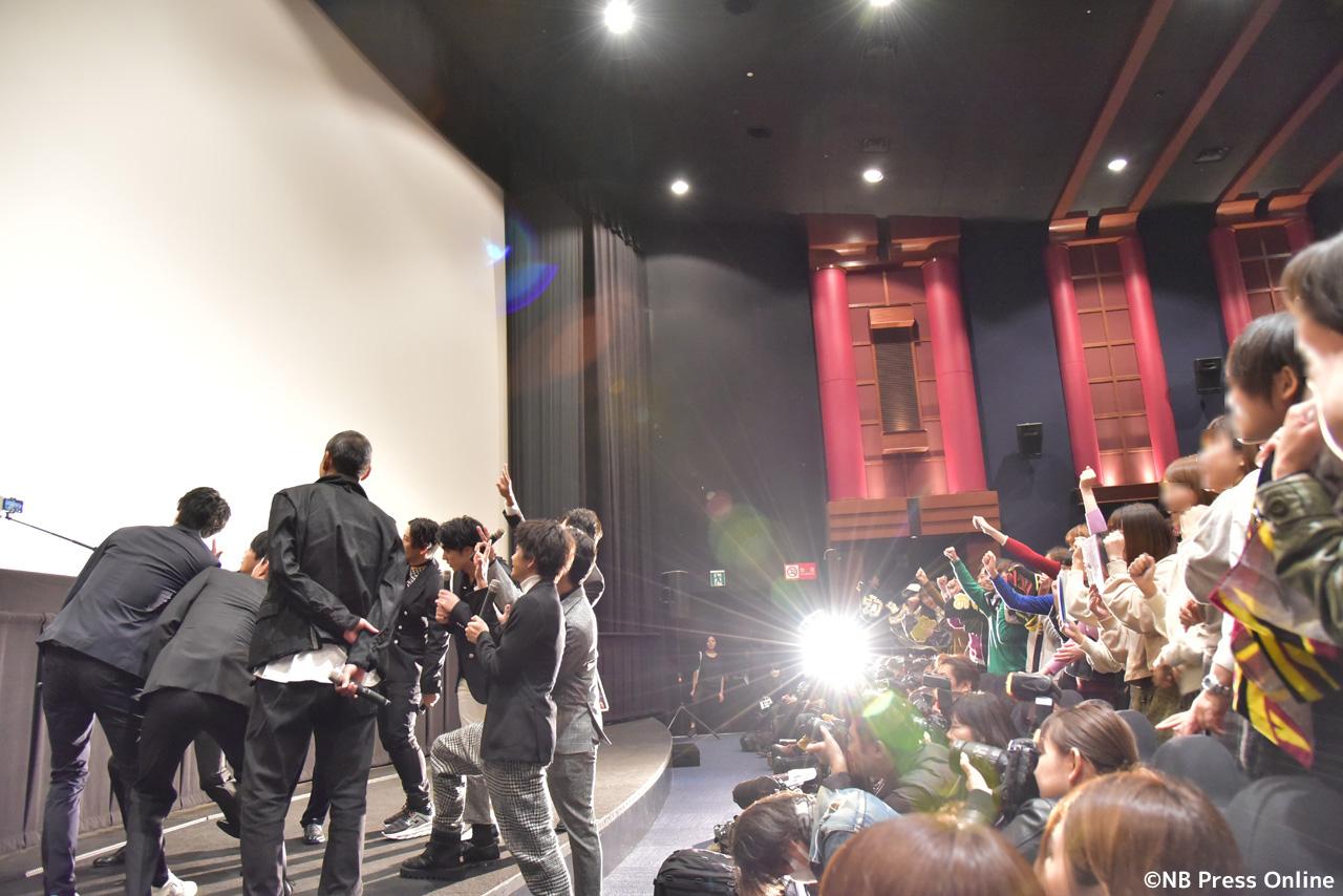 映画『jam』初日舞台挨拶