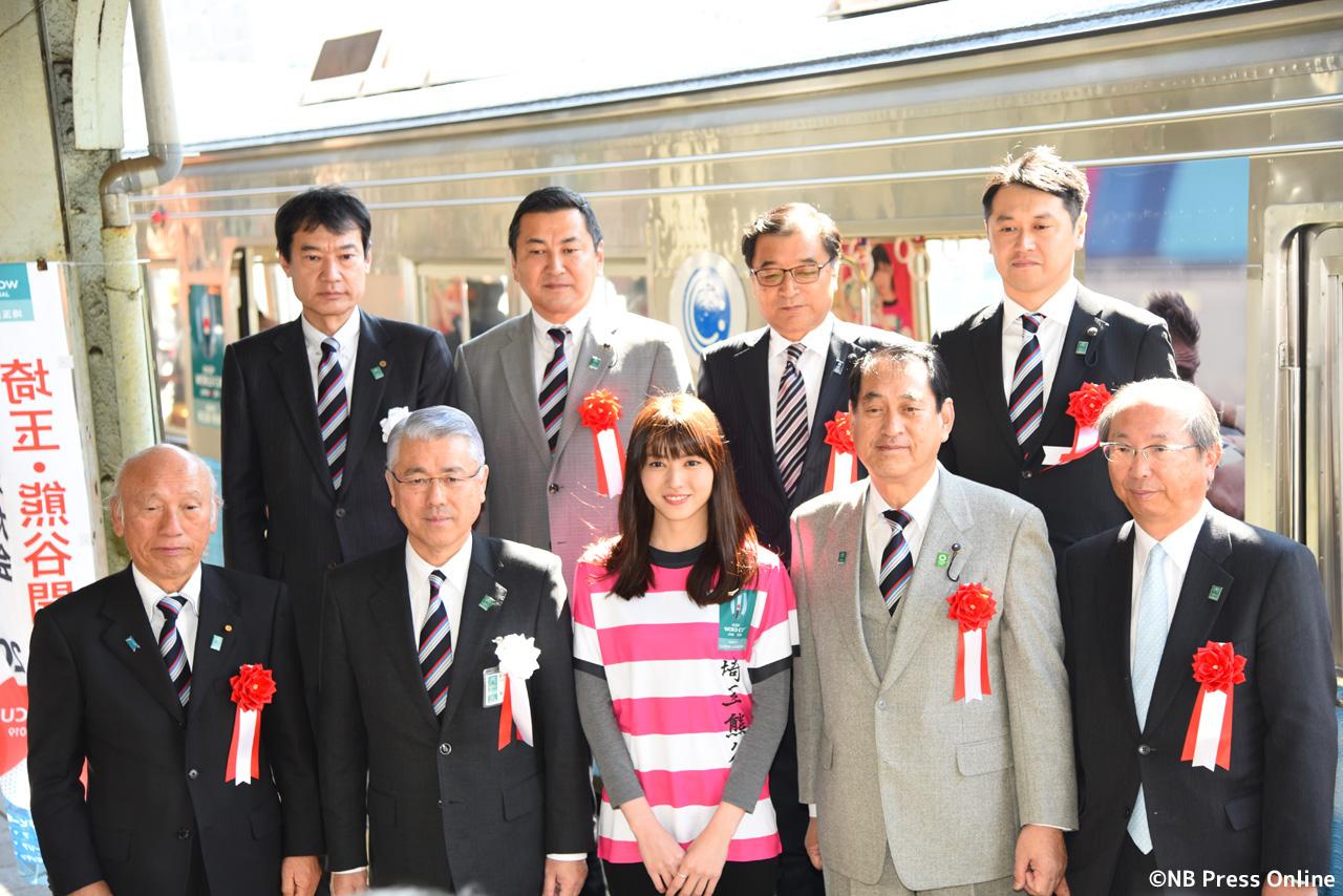 秩父鉄道 ラグビーW杯2019ラッピングトレイン