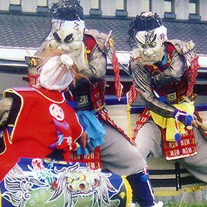 赤澤鎧剣舞(岩手県大船渡市)