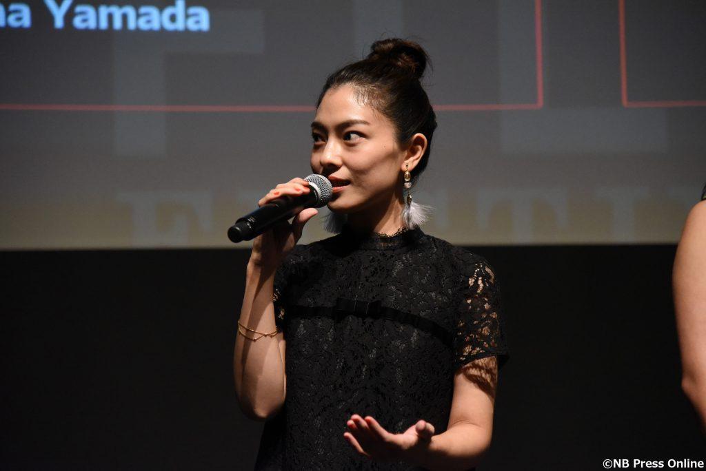 森口彩乃 - 第30回東京国際映画祭