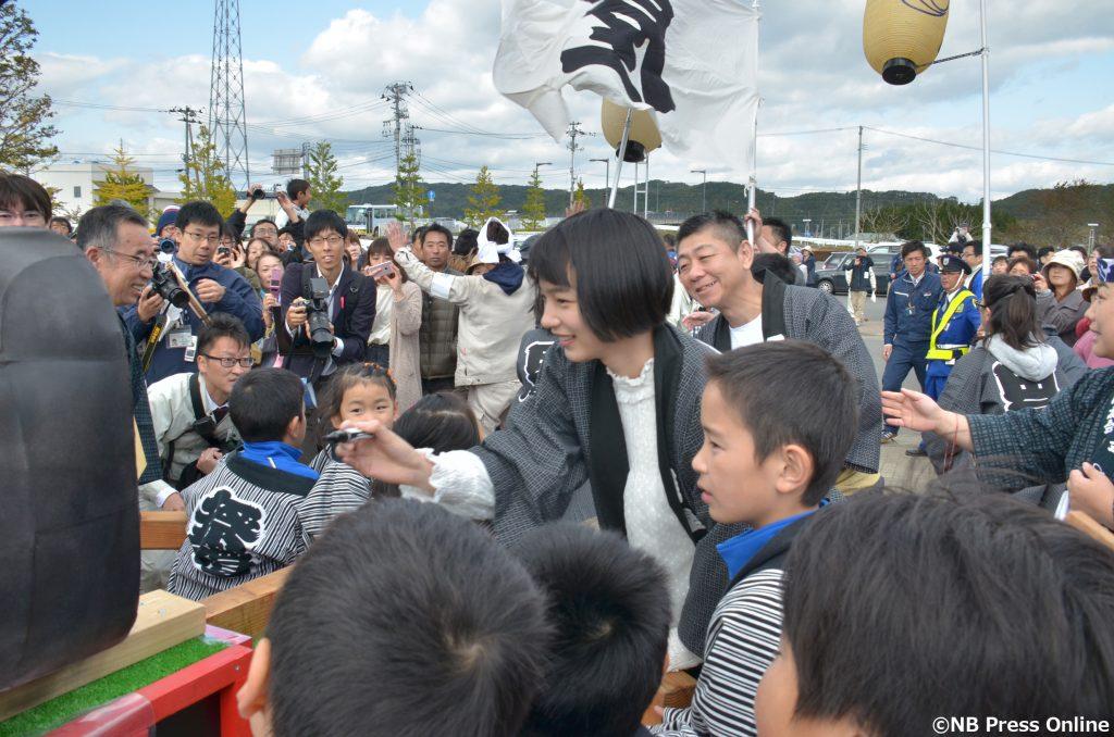のん - 久慈産業祭り