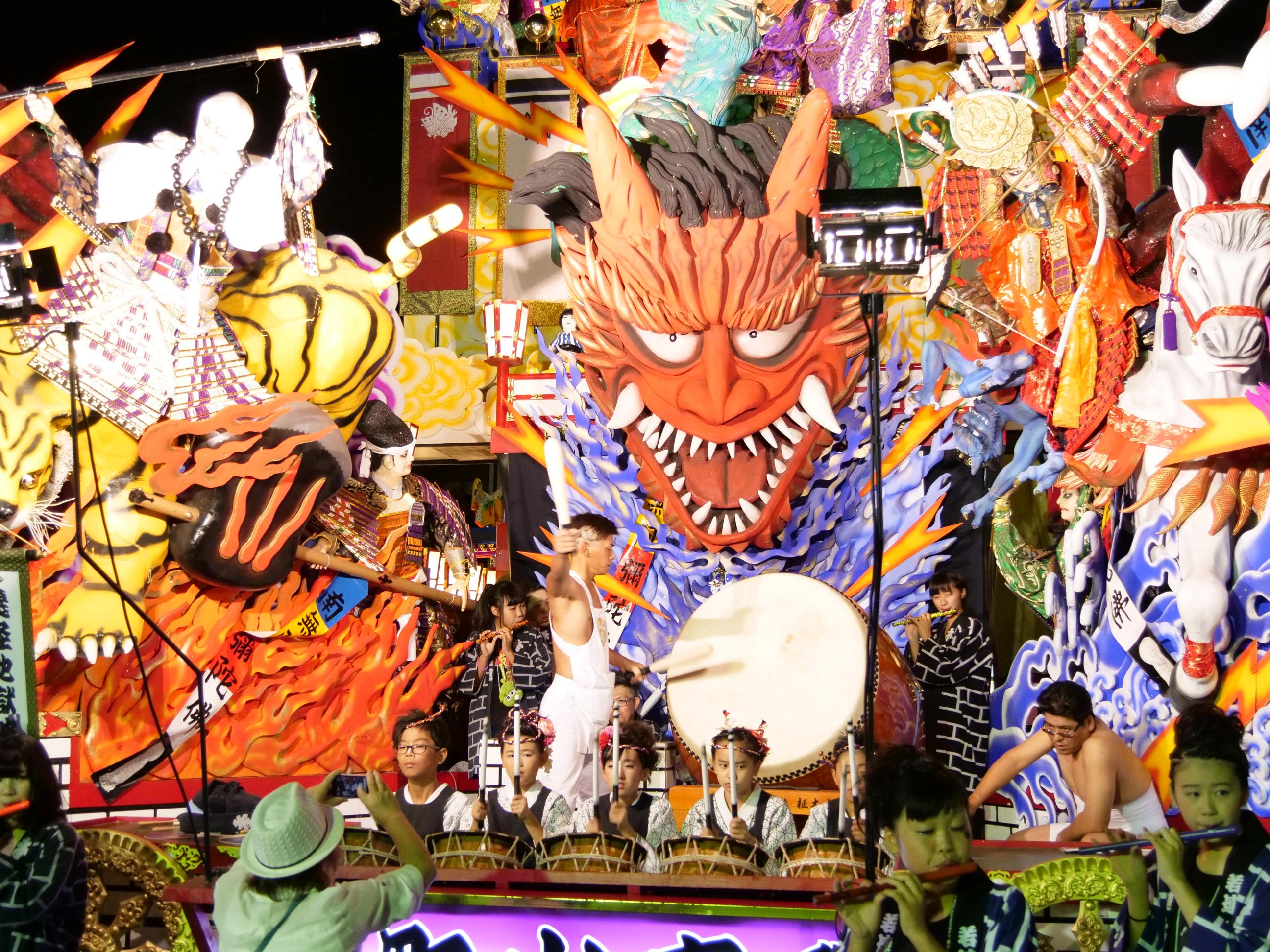 久慈秋まつり2017 - 前夜祭