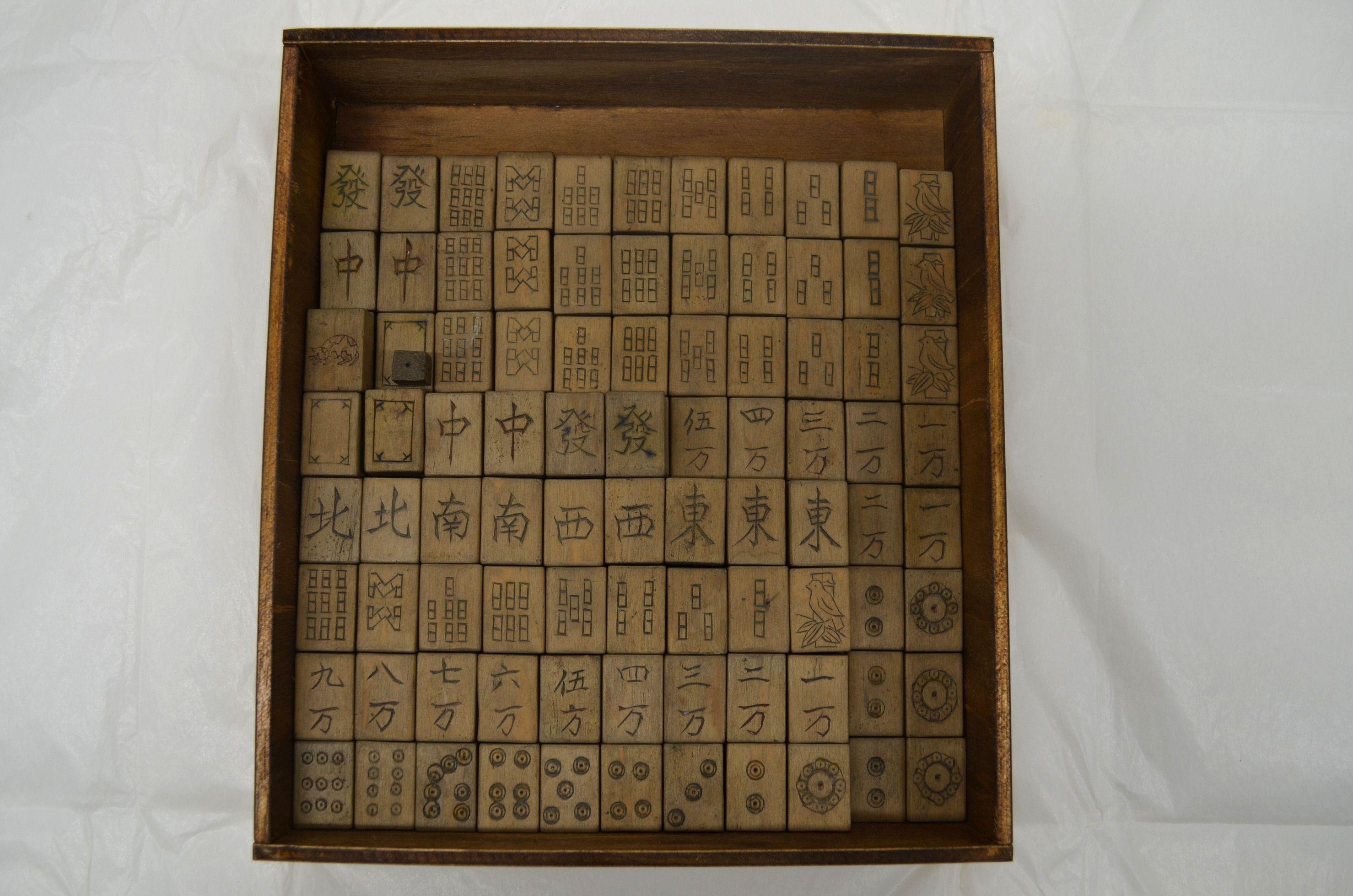 東京初展示!「白樺の木で作った麻雀牌」