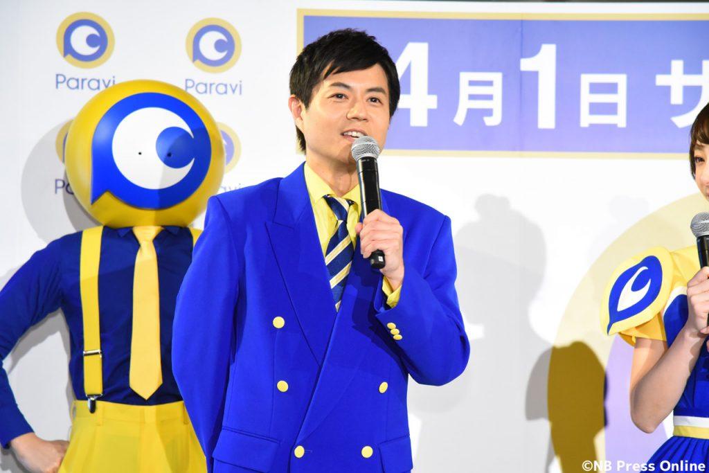 Paravi新CM発表記者会見