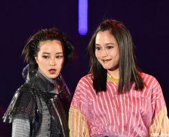 広瀬アリス&広瀬すず in マイナビ presents TGC 2018 S/S