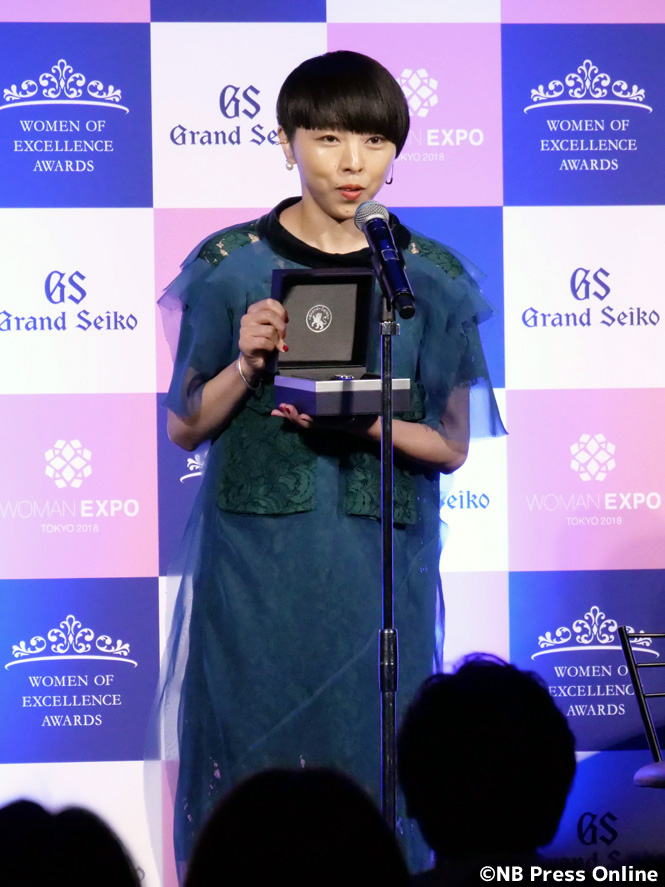 MIKIKO - 第4回Women of Excellence Awards