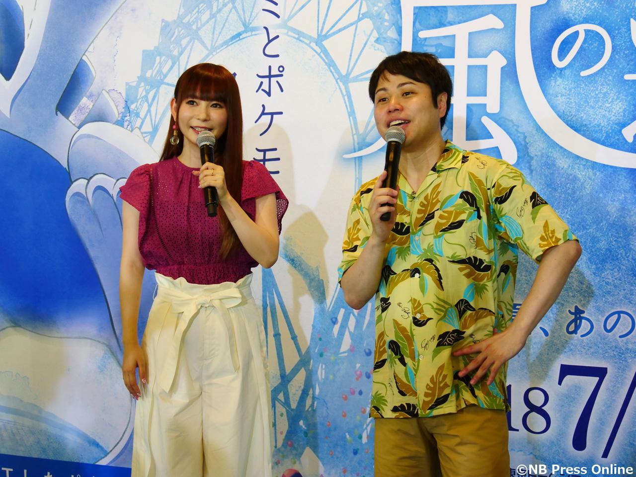 中川翔子×井上裕介(NON STYLE) - リアル脱出ゲーム『風の遊園地からの脱出』