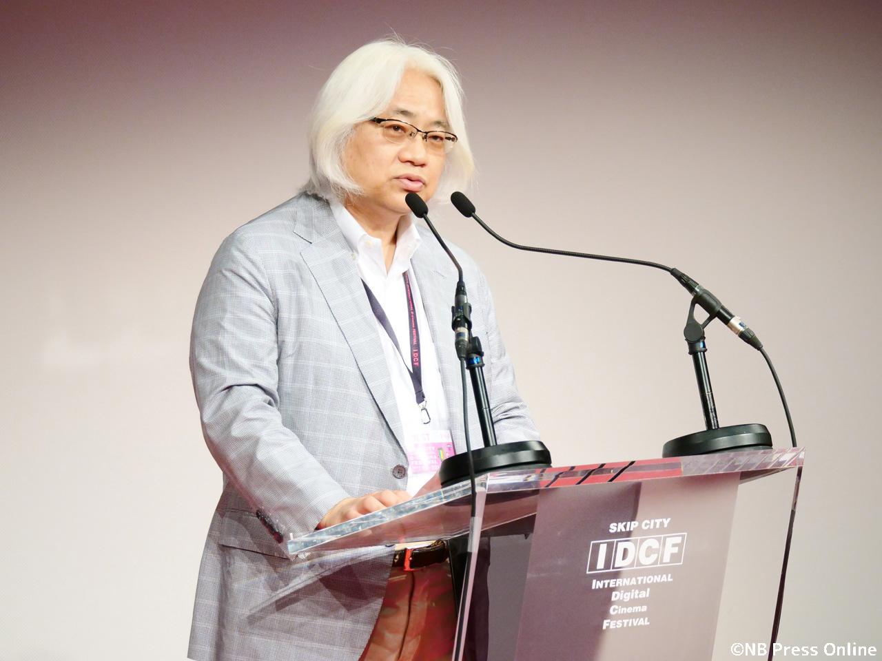 桝井省志 氏 - SKIPシティ国際Dシネマ映画祭2018