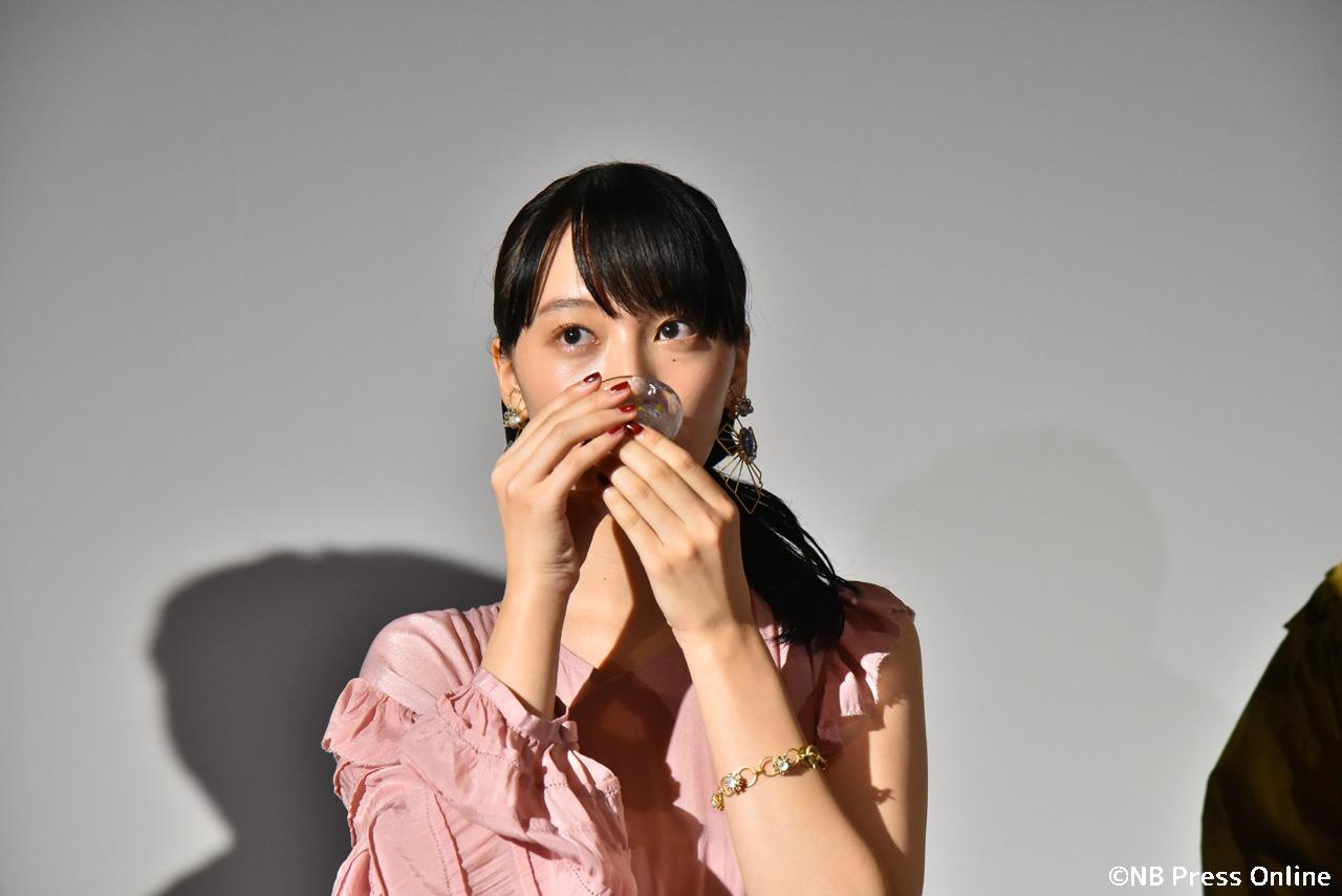 山田愛奈 - 映画『いつも月夜に米の飯』初日舞台挨拶