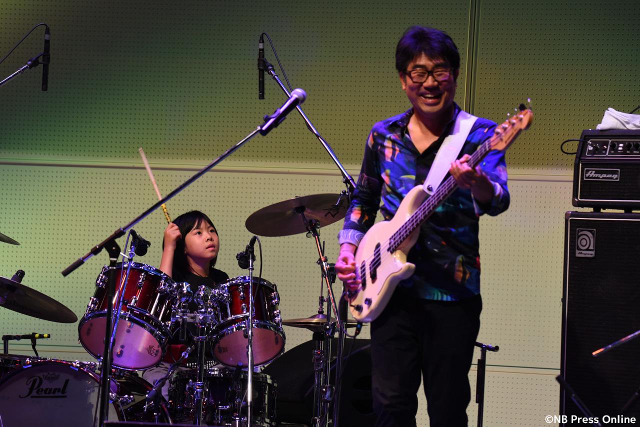 「ベースの日xドラムの日 楽器フェア50周年スペシャル」ステージ