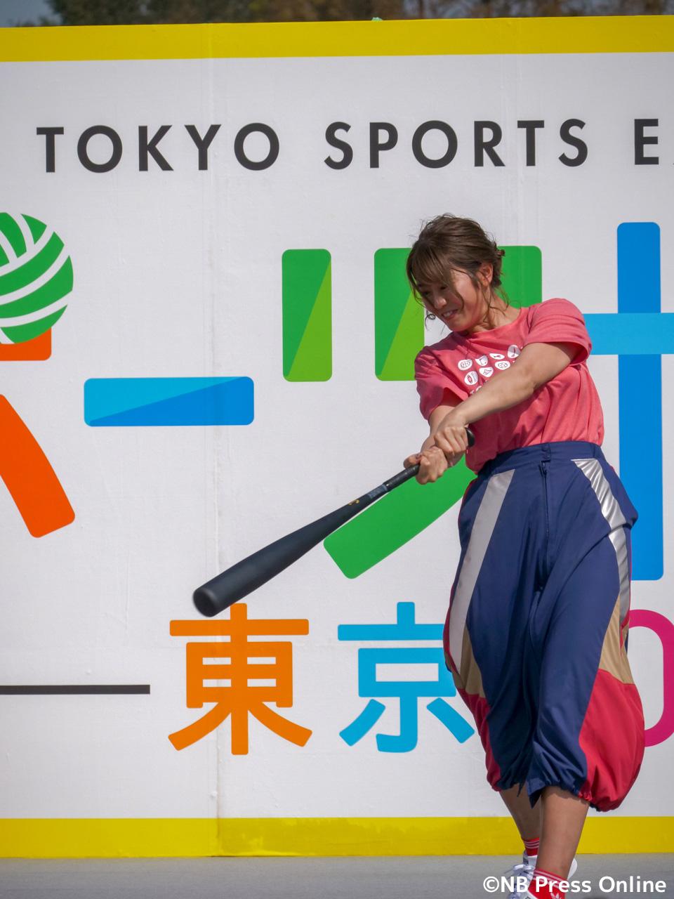 稲村亜美「スポーツ博覧会・東京2018」