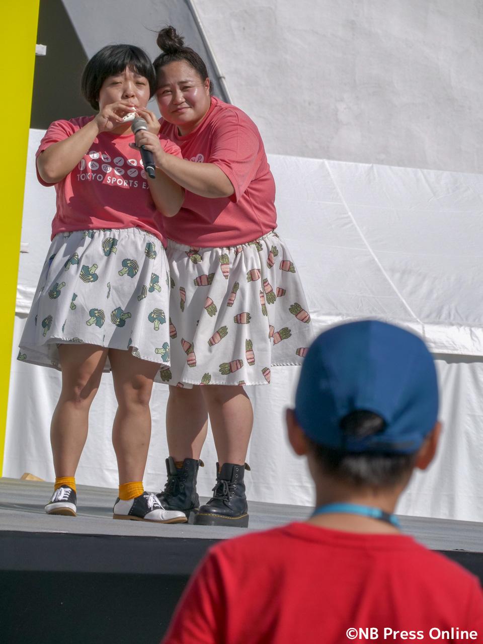 おかずクラブ「スポーツ博覧会・東京2018」