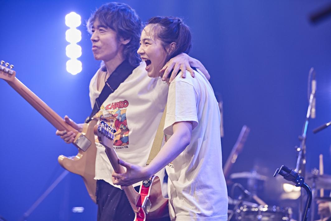 のん with スーパーヒーローズ 野音リベンジ!!!