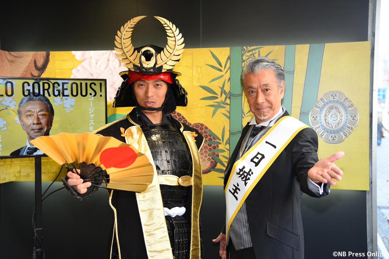 高田純次 - 名古屋城 本丸御殿カフェ