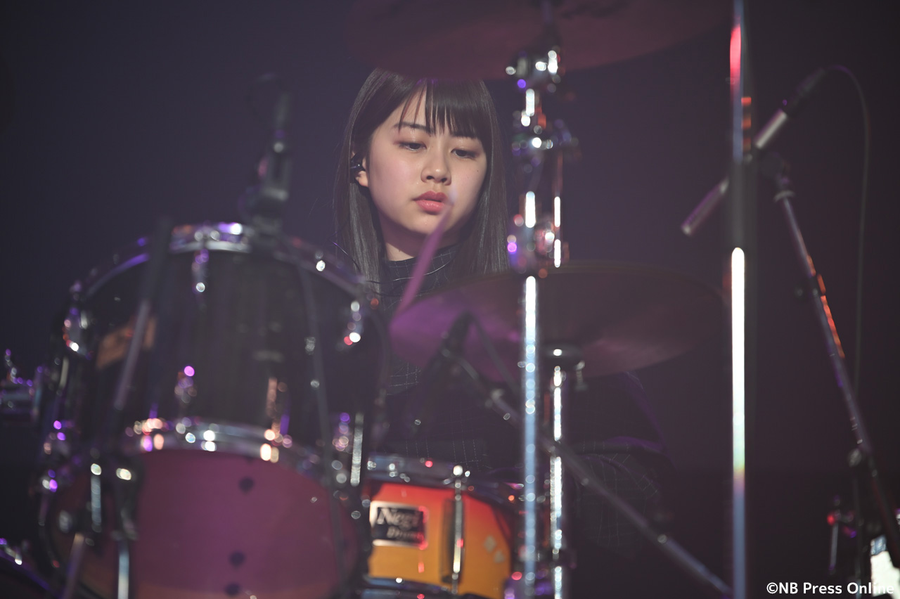 脇田穂乃香(わきたほのか/ドラム)
