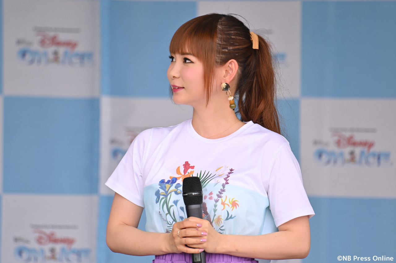 中川翔子@ディズニー・オン・アイス2019