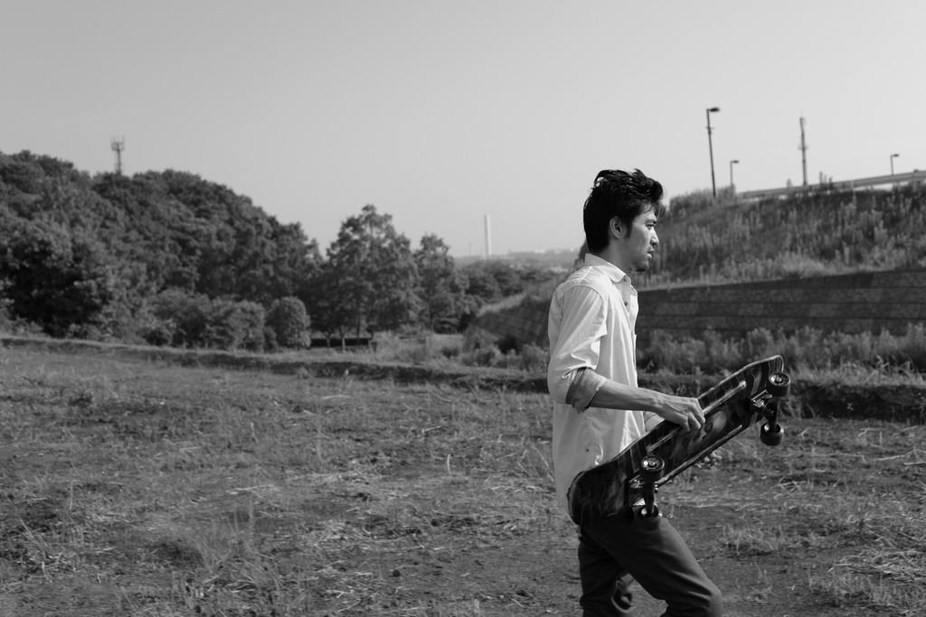 村上淳主演作『Playback』(2012/三宅唱)