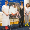 小野みゆき「女の生き様が美しいリアルなファンタジー映画」。映画『クシナ』日本外国特派員協会記者会見