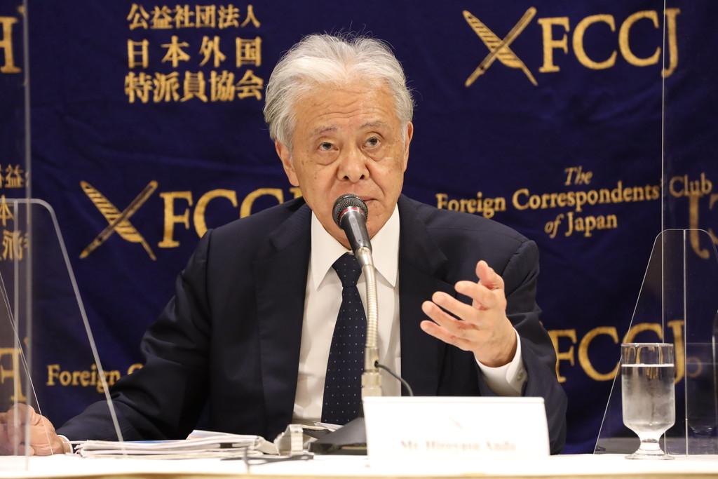 安藤裕康 東京国際映画祭チェアマン