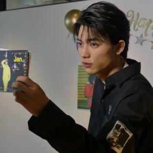 板垣瑞生カレンダー発売記念リモート会見