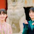 松本穂香&奈緒が上京した時に感じた味付けの違いとは? 神田明神でヒット祈願!映画『みをつくし料理帖』