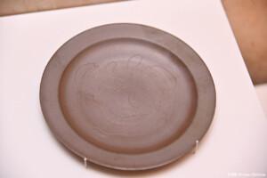 越前焼平皿