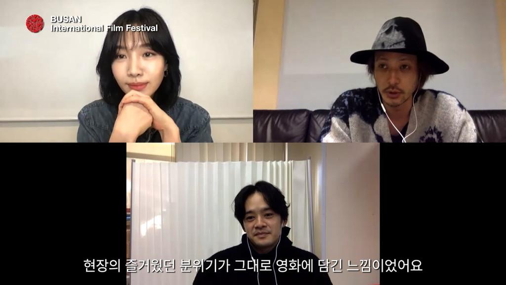 釜山国際映画祭主催<アンニョン>プロジェクト