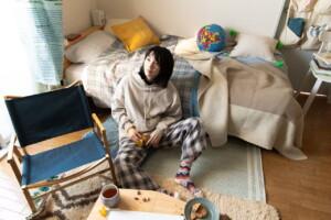 映画『私をくいとめて』SPIN OFF みつ子の部屋 INSTALLATION by Fumiko SAKUHARA