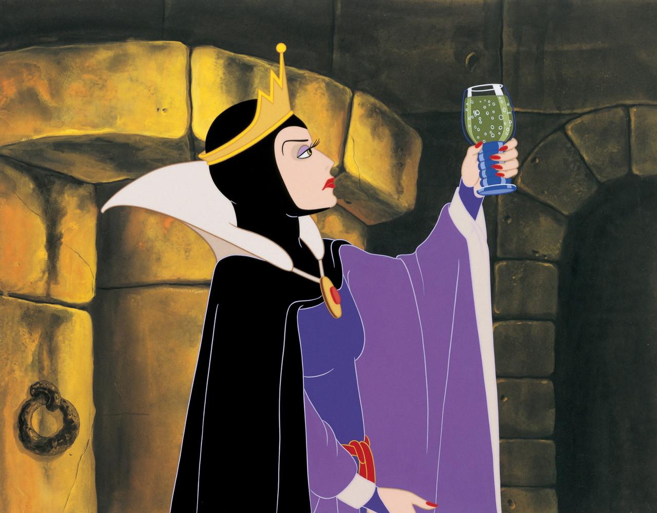 『白雪姫』女王(魔女)