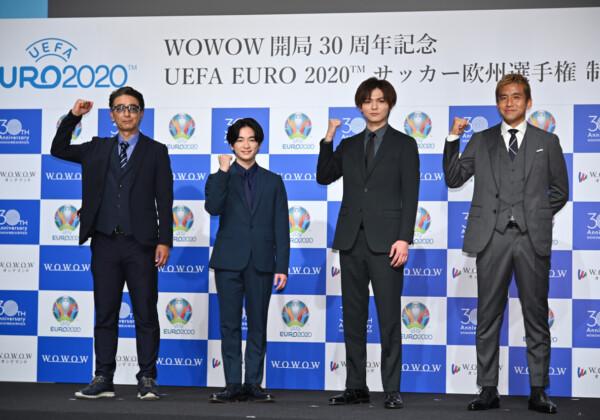 「UEFA EURO 2020™ サッカー欧州選手権」制作発表記者会見