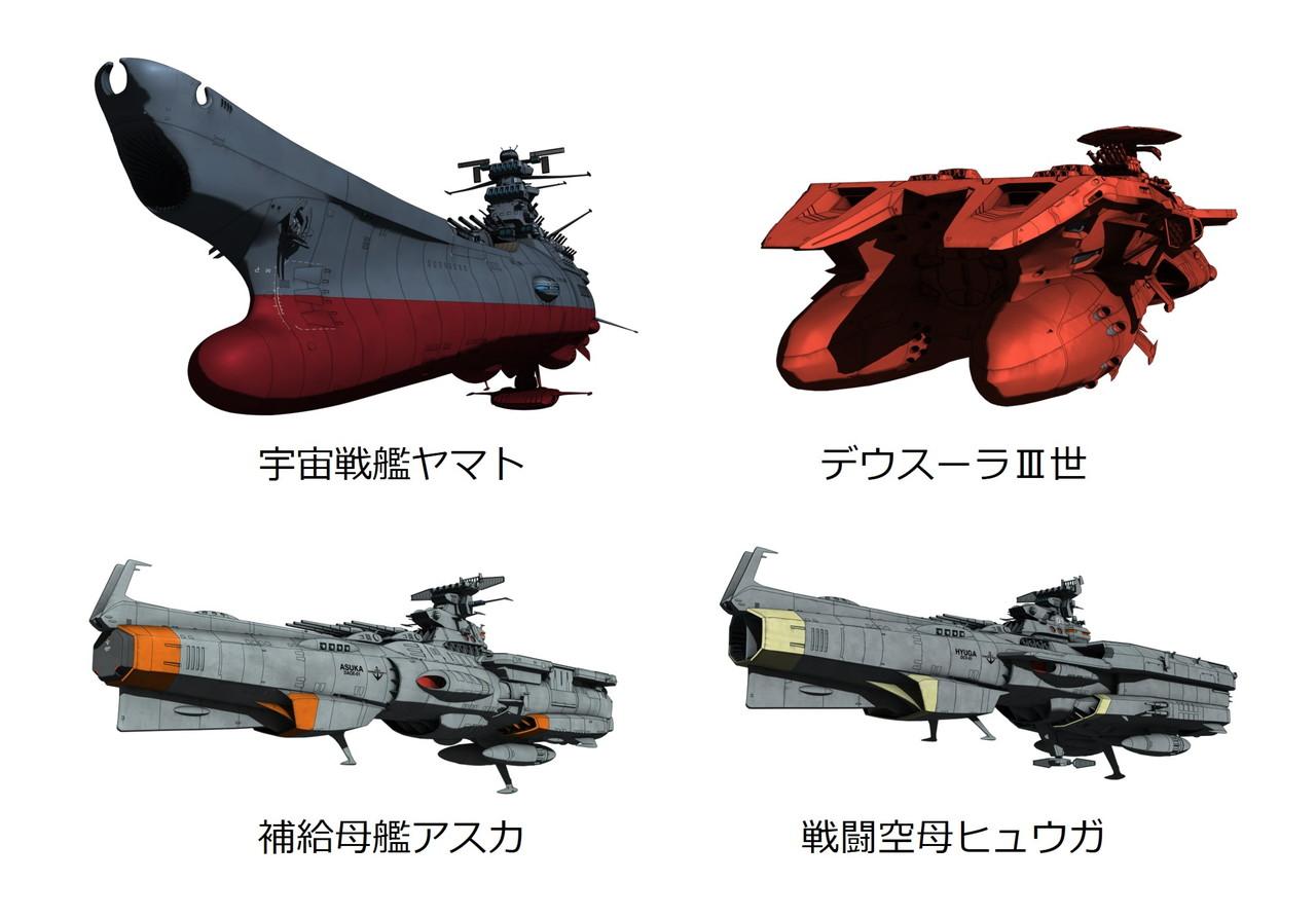 『宇宙戦艦ヤマト2205 新たなる旅立ち』前章 –TAKE OFF-