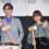 市川染五郎×杉咲花、1年延期を経ての劇場公開に喜びの鏡開き。『サイダーのように言葉が湧き上がる』初日舞台挨拶