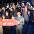 松坂桃李×鈴木亮平×西野七瀬 登壇!映画『孤狼の血 LEVEL2』公開記念舞台挨拶