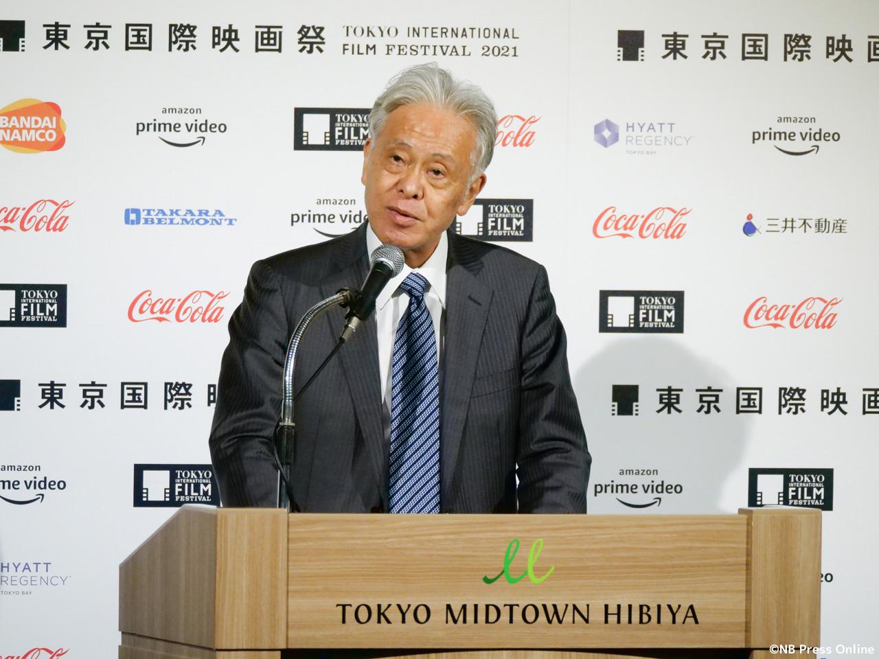 東京国際映画祭チェアマン 安藤裕康